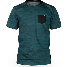 Loose Riders Pocket SS Jersey Men heather teal